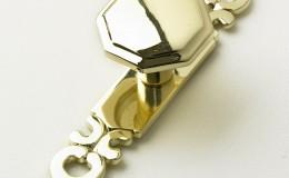 Brass-Octagonal-Knob-&-Plate