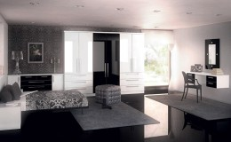 Phoenix-Gloss-White-&-Black-Bedroom